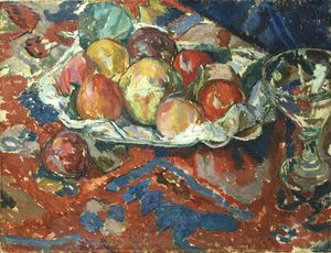 Duncan Grant - Still Life With Peaches