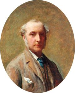 James Sant - Self Portrait -