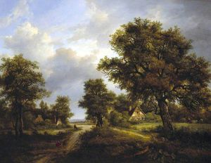 Patrick Nasmyth - View In Sussex -
