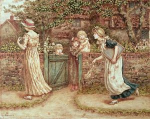Kate Greenaway - Lucy Locket Lost Her Pocket