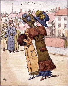 Kate Greenaway - Out For A Walk