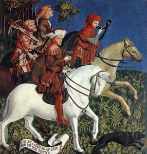 Master Of The Polling Panels - Prince Tassilo Rides To Hunting