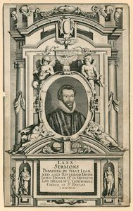 Matthäus The Younger Merian - Dr John Donne, Late Deane Of The Cathedral Church Of St Paul's