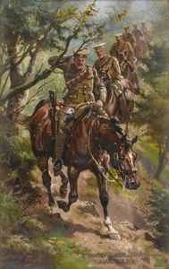 Harry Payne - 6th Dragoon Guards -