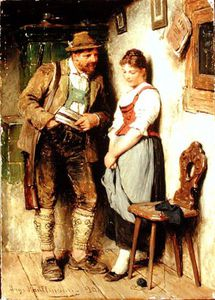 Hugo Wilhelm Kauffmann - The Sweetheart