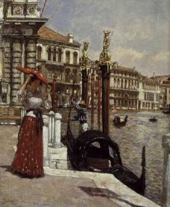 James Charles - On The Grand Canal, Venice