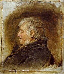 John Faed - Profile Study Of An Elderly Man