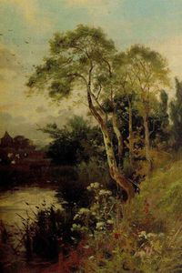 John Horace Hooper - Evening By The June Wood