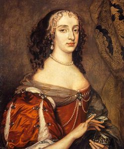 Adriaen Hanneman - Princess Mary, Eldest Daughter Of Charles I And Princess Of Orange