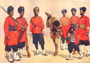 Alfred Crowdy Lovett - Rajput Soldiers Of The British Indian Army