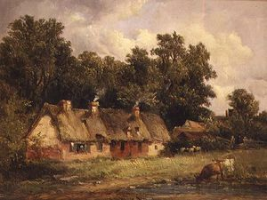 Alfred Gomersal Vickers - Near Wilford, Nottinghamshire,
