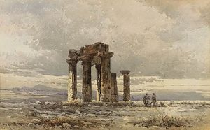 Angelos Giallina - Shepperds At The Ruins