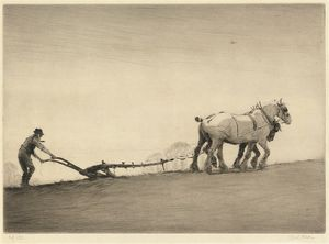 Beatrice Parsons - Ploughing -