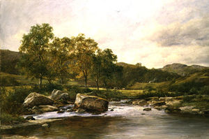 David Bates - Stepping Stones On The River Llugwy