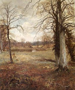 Edward Wilkins Waite - Early Spring At Abinger
