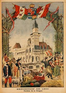 Fortune Louis Meaulle - The Hungarian Pavilion At The Universal Exhibition