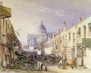 George Shepherd - London University From Old Gower Muse,