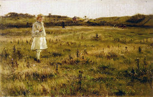George Henry Boughton - A Summer Meadow