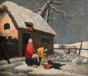 George Morland - Breaking The Ice