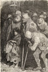 Paul Gustave Doré - Spanish Beggars From Burgos