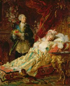 Gyula Benczur - Louis Xv And Madame Dubarry