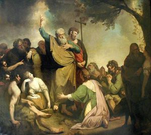 John Hamilton Mortimer - St Paul Preaching To The Ancient Britons