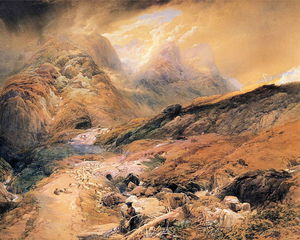 Thomas Miles Richardson Senior - N The Pass Of Glencoe, Argyllshire