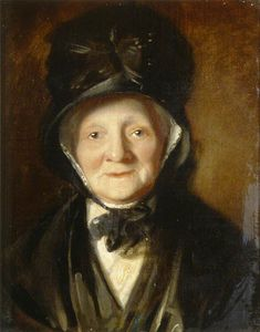William Owen - Portrait Of An Old Lady
