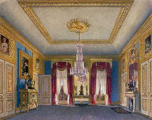 Charles Wild - Carlton House, Ante-room Looking South
