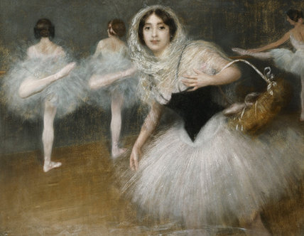famous painting The Dancers of Albert Ernest Carrier Belleuse