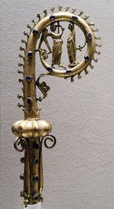 Pierre Révoil - Crozier With Representation Of The Annunciation