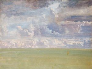 Alfred James Munnings - Sky Study -