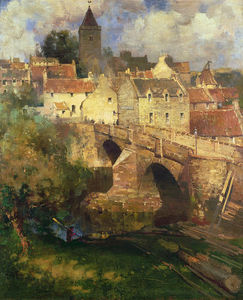 James Dromgole Linton - A Village In East Linton