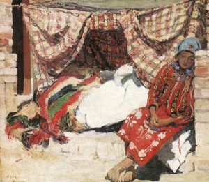 Istvan Csok - Sleeping Shokatz Woman