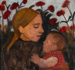 Paula Modersohn Becker - Girl With Child