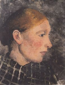 Paula Modersohn Becker - Head Of A Peasant Woman In Profile