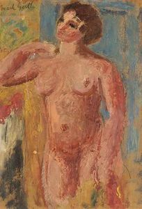 Mark Gertler - Nude Study