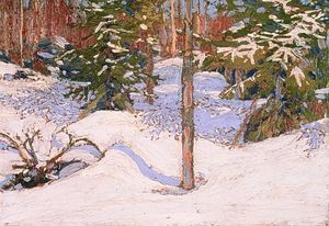 Thomas Thompson - Snow In The Woods