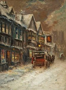Charles John De Lacy - The Winter Carriage