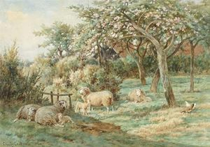 Claude Cardon - A Corner Of The Orchard