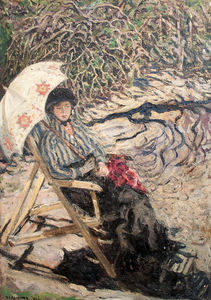 Izsak Perlmutter - Lady With Umbrella