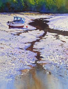 Robert Dudley - Low Tide On The Yealm