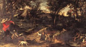 Annibale Carracci - hunting