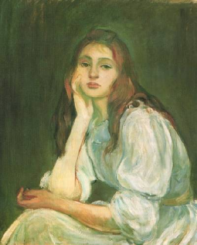 famous painting julie dreaming of Berthe Morisot