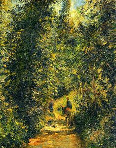 Camille Pissarro - Path under the Trees, Summer.