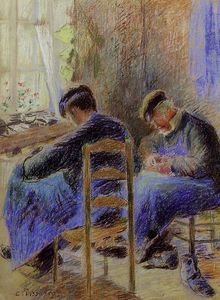 Camille Pissarro - shoemakers.