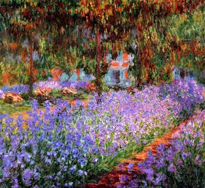 Claude Monet - The artists garden Sun
