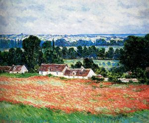 Claude Monet - field of poppies giverny