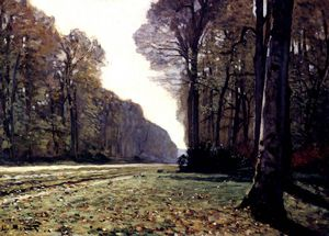 Claude Monet - the road to chailly