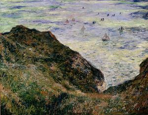 Claude Monet - view over the sea